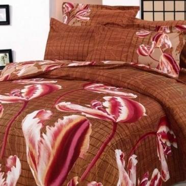Комплект постельного белья ARYA сатин Anetta   Red