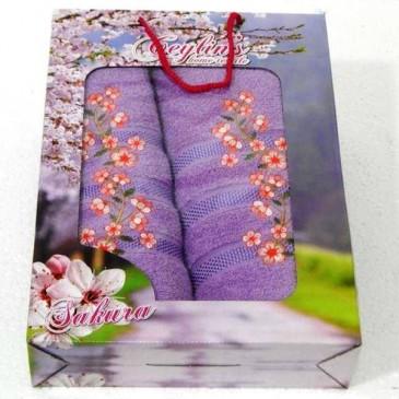 Набор полотенец Ceylins sakura двойка