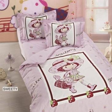 Комплект постельного белья ARYA сатин SWEETY