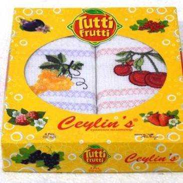 Салфетки вафельные Ceylin 4 штуки