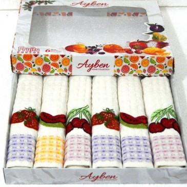 Салфетки Ayben LUX фрукты