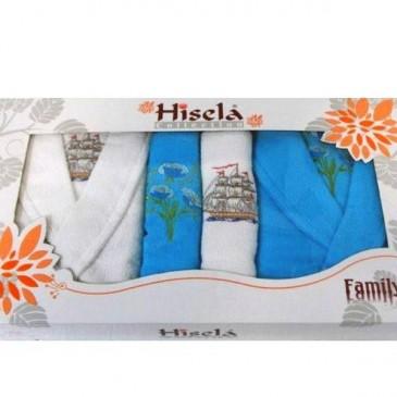 Набор Hisena dray 2 халата + 4 полотенца
