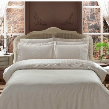 Комплект постельного белья + покрывало TIVOLYO HOME Cameo