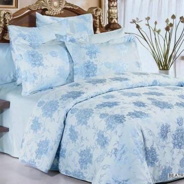 Комплект постельного белья ARYA жаккард Beatrice Blue