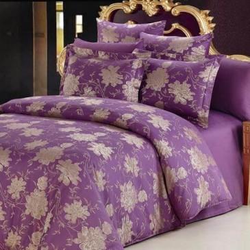Комплект постельного белья ARYA жаккард Beatrice Lilac