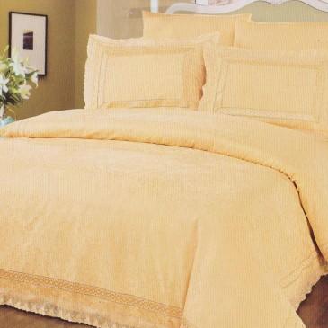Комплект постельного белья ARYA жаккард Casalinga Gold