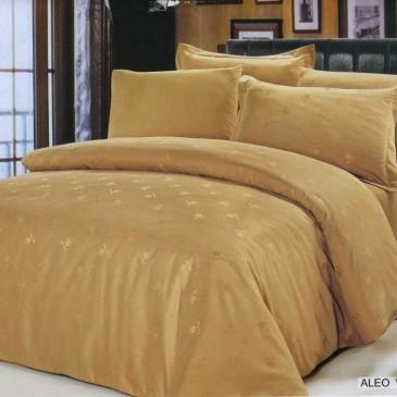 Комплект постельного белья ARYA жаккард Aloe Vera Gold