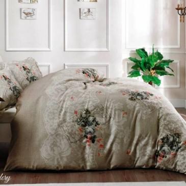 Комплект постельного белья Tivolyo Home Rose Brodery