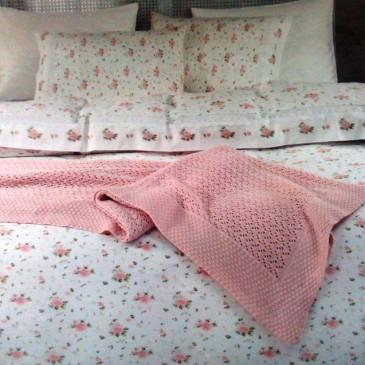 Комплект постельного белья Gelin Home Roza Triko Set