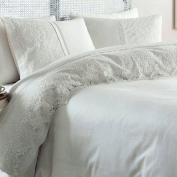 Комплект постельного белья Gelin Home DONNA с французским кружевом