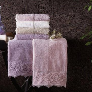 Набор полотенец двойка Tivolyo Home Elegant