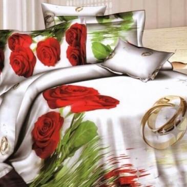 """Комплект постельного белья Love You сатин """"Свадьба"""""""