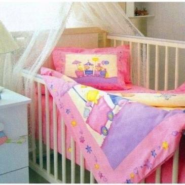 Комплект постельного белья TAC baby LITTLE TRAIN