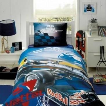 """Комплект постельного белья ТАС ранфорс """"Гонки Red Bull"""""""
