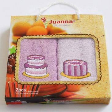 Салфетки Juanna 30х50 махровые 2 штуки