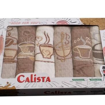 Салфетки вафельные Beyza, Calista 6 штук