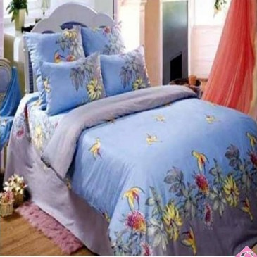 Комплект постельного белья Love You Эдем голубой