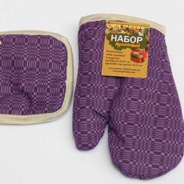 Набор кухонный МС рукавичка + прихватка