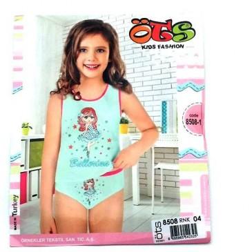 Комплект детский трусики и майка Kids Fashion ( девочка )