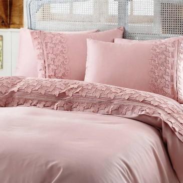 Комплект постельного белья Gelin Home ESMA pudra