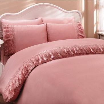 Комплект постельного белья Gelin Home  NESLISAH  пудра
