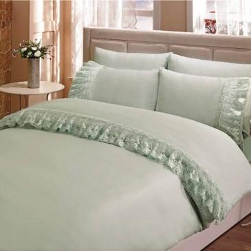 Комплект постельного белья Gelin Home  NESLISAH бирюзовый
