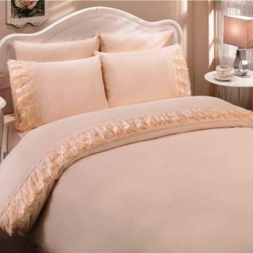 Комплект постельного белья Gelin Home  NESLISAH персик