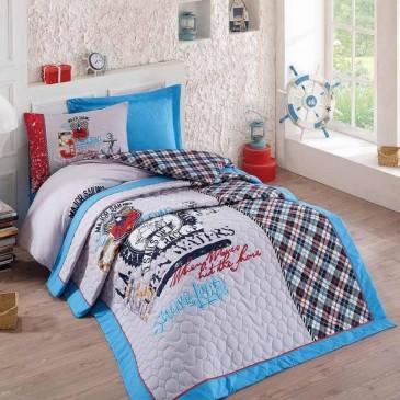 Постельное белье Cotton Box Major полуторное с покрывалом