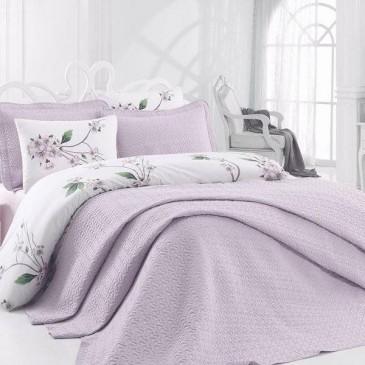 Постельное белье с покрывалом Cotton Box Daily lila