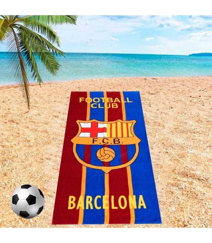 Полотенце пляжное 75*150 с футбольными клубами