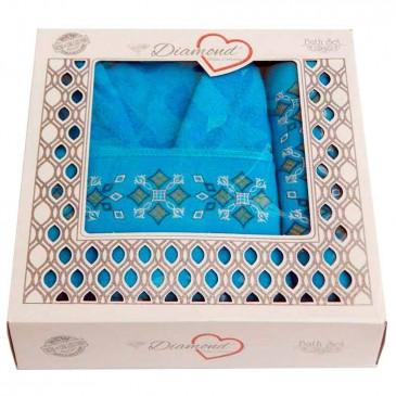 Набор для ванной Diamond халат и полотенца