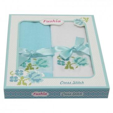 Салфетки Fushia вафельные 45*70 2 штуки