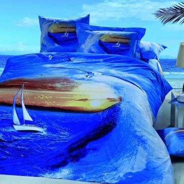 Комплект постельного белья Bella Dona сатин 3D B 0049
