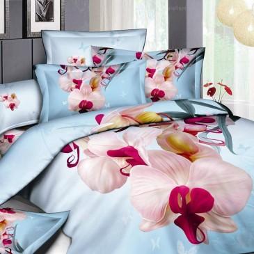 Комплект постельного белья Bella Dona сатин 3D B 0055