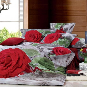 Комплект постельного белья Bella Dona сатин 3D B 0051