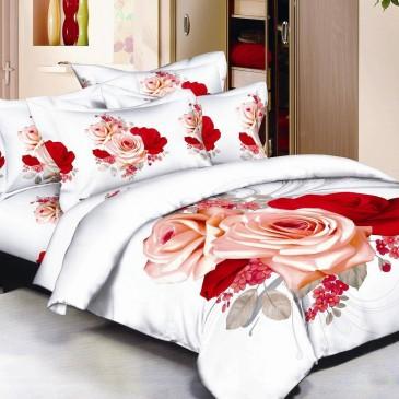 Комплект постельного белья Bella Dona сатин 3D B 0057