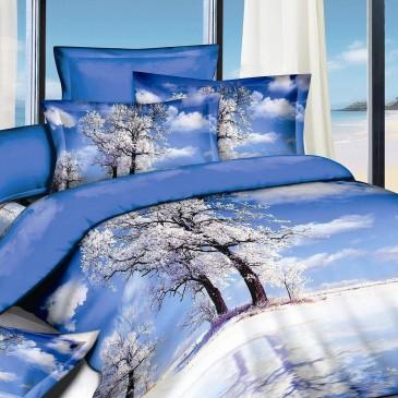 Комплект постельного белья Bella Dona сатин 3D B 0056