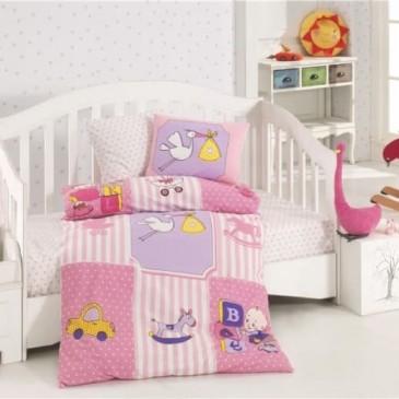 Постельное белье детское KRISTAL Play time lila