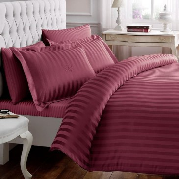 Постельное белье Tivolyo Home NEW JACQUARD bordo