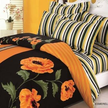 Комплект постельного белья ARYA сатин Esmeralda