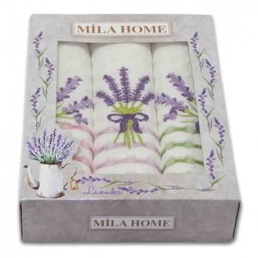 Салфетки Mila Home вафельные 40*60 3 штуки