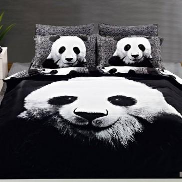 Комплект постельного белья ARYA сатин Panda