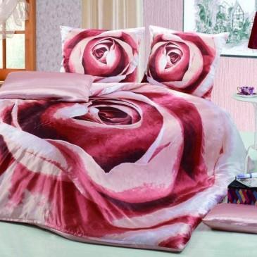 """Комплект постельного белья Bella Dona шелк """"Кофейная роза"""""""