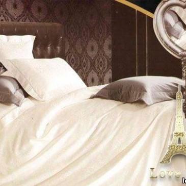 Комплект постельного белья Love You жаккард 1-04