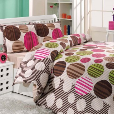 Комплект постельного белья Hobby ранфорс Bloom