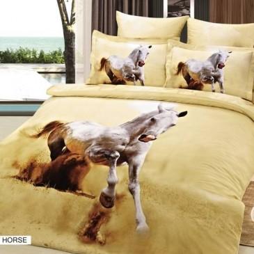 Комплект постельного белья ARYA 3D Exclusive Desert Horse