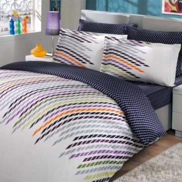 Комплект постельного белья HOBBY сатин Frame