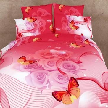 Комплект постельного белья Love You сатин Эйфория