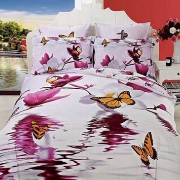 Комплект постельного белья Arya Сатин Butterfly