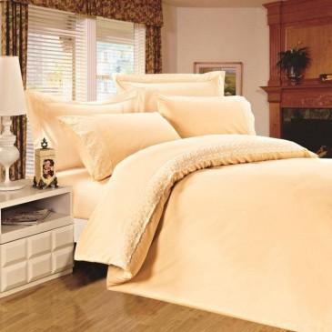 Комплект постельного белья Сатин с кружевом, TF B 0003